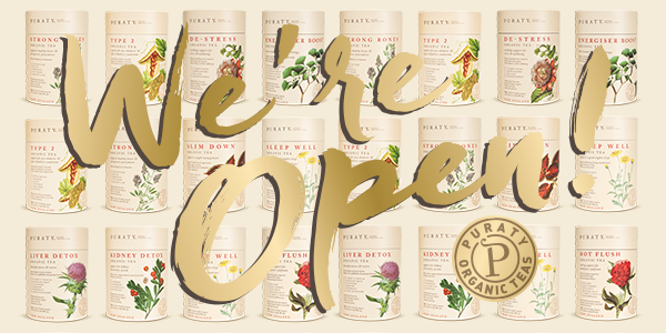 Puraty Teas – therapeutic, organic herbal teas!