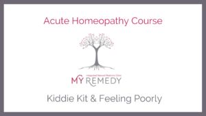 Acute Homeopathy Course-start